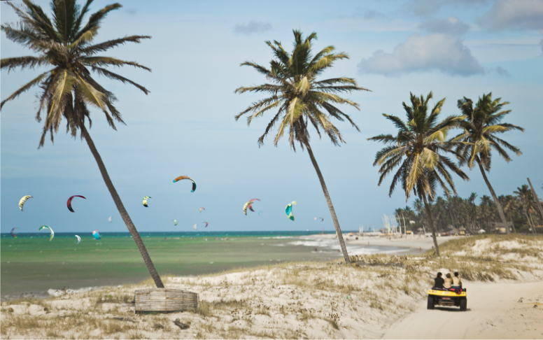 Praias do Ceará fortalecem o turismo com eventos esportivos