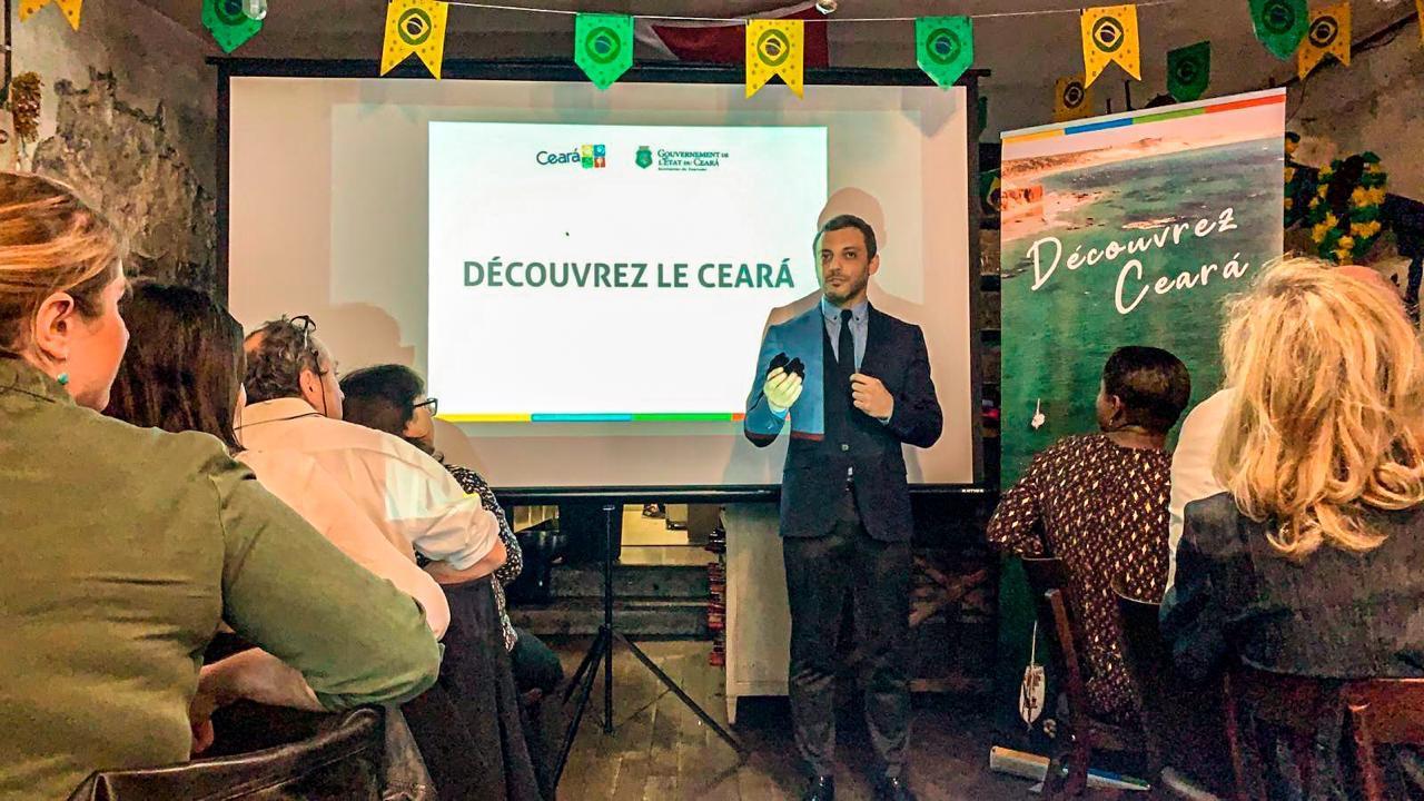 Setur realiza seminários internacionais para promover o Ceará