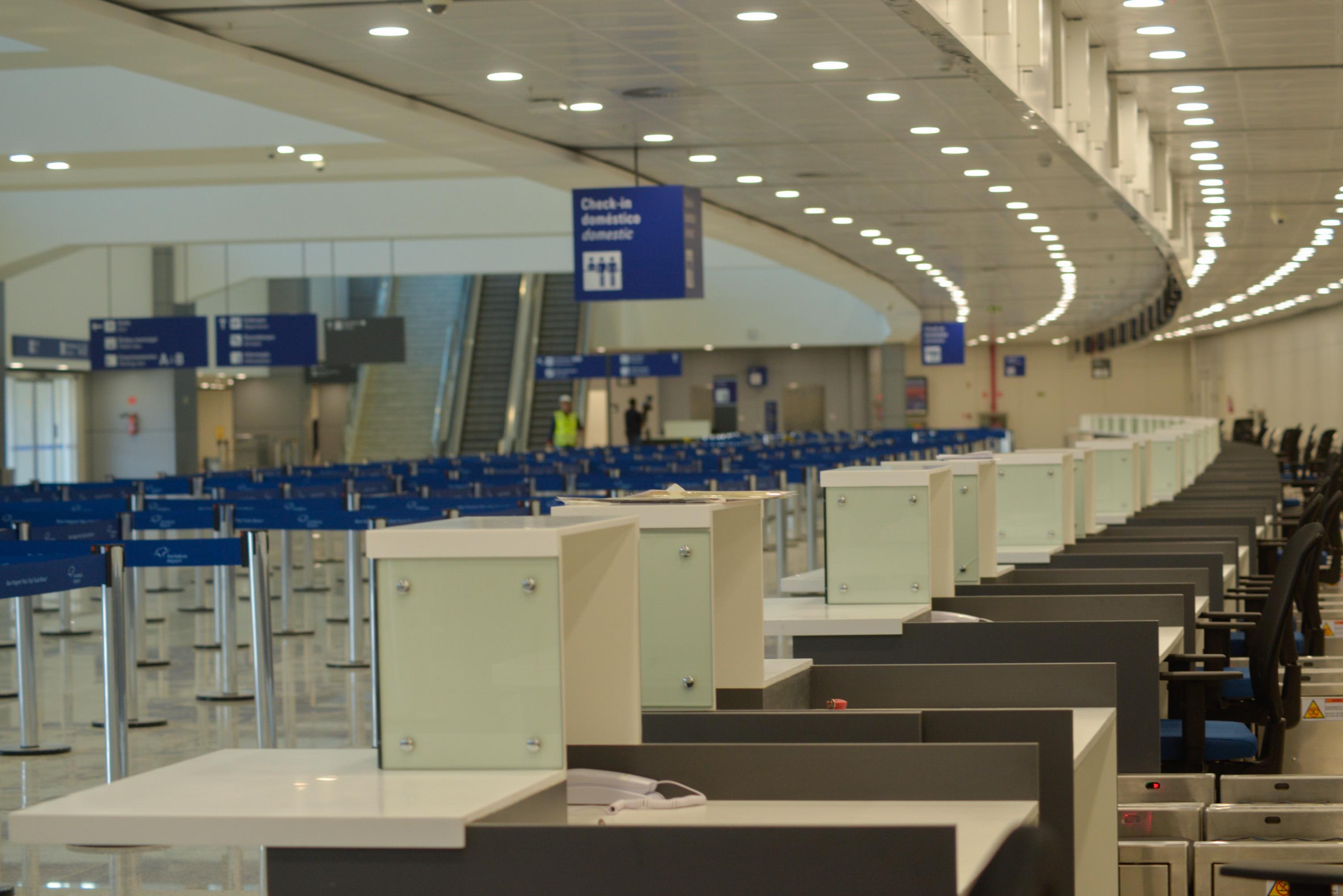 Aeroporto de Fortaleza conta com nova área de check-in a partir desta terça-feira