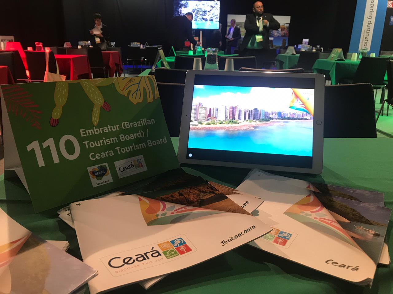 Setur leva principais atrativos do Ceará a feiras de turismo na Inglaterra e no Chile
