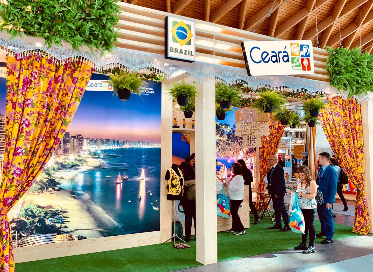 Ceará divulga atrativos do destino em feiras de turismo na Itália e Argentina