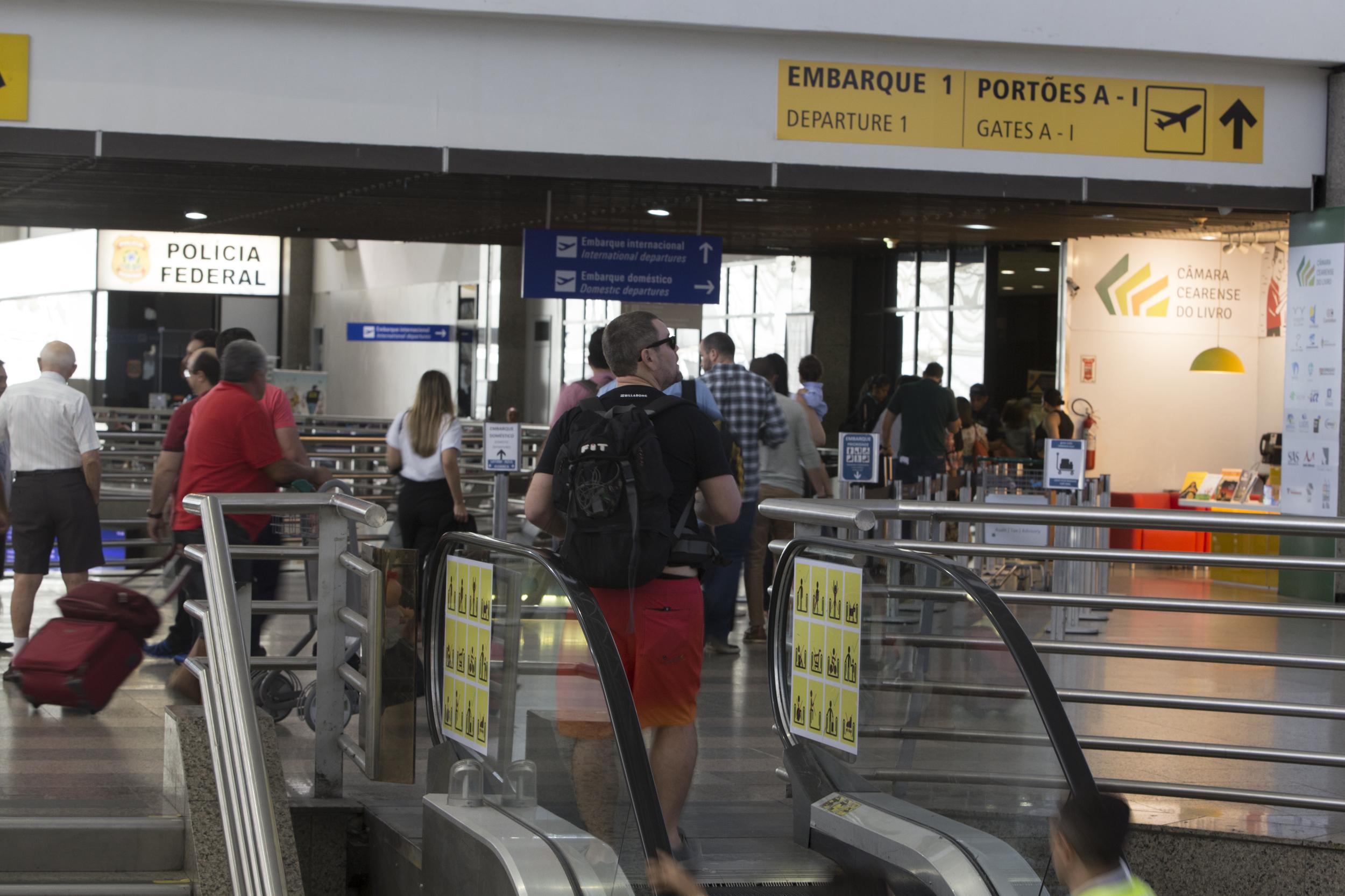 Ceará registra maior crescimento do País no número de passageiros internacionais até outubro